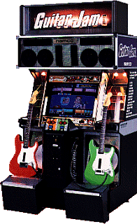 guitar jam videogame by namco. Black Bedroom Furniture Sets. Home Design Ideas