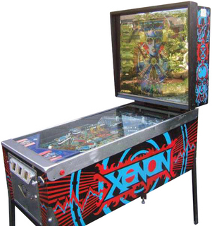 Xenon Pinball By Bally Manufacturing Co