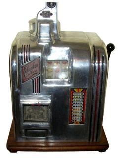 columbia deluxe slot machine