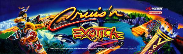 Cruis'n Exotica - marquee
