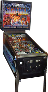 Strange Science Pinball By Bally Midway