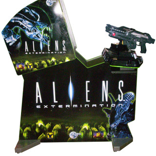 Aliens Extermination Videogame By Global Vr