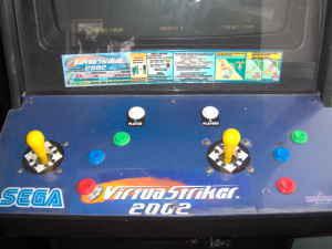 Manuals & Guides 2002 Sega Virtua Striker 2002 Jp Video Flyer