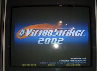 2002 Sega Virtua Striker 2002 Jp Video Flyer Arcade, Jukeboxes & Pinball
