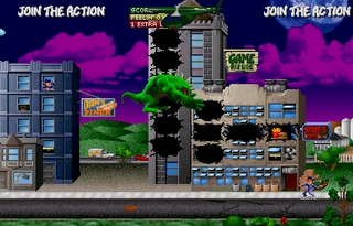 Rampage World Tour - Videogame by Midway Games