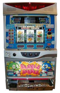 Bubble Bobble Slot Machine By Taito