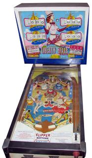 Liberty Belle Pinball By Gottlieb D Amp Co