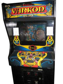 Varkon Pinball By Williams Electronics Inc 1967 1985
