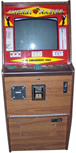 cabinet stain cherrymasters slot machine by electro sport 13052