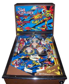star explorer pinball machine for sale