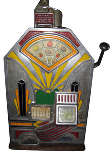 antique penny slot machine little duke