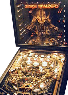 Space Invaders Pinball - Pinball by Bally Manufacturing Co