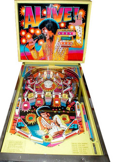 elvis alive pinball machine