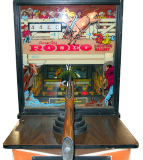 Rodeo Shooting Gallery Arcade By Chicago Coin