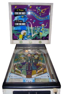 Astronaut - Pinball by Chicago Coin Machine Co.