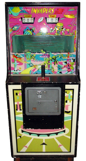 Invaders From Outer Space Arcade By Midway Manufacturing Co