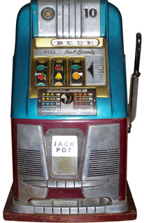 mills black slot machine