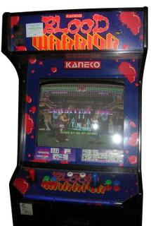Blood Warrior Videogame By Kaneko